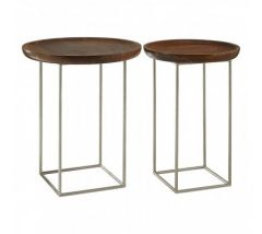 Nest Mango Wood Set of Tables