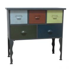 New York 5 Drawer Loft Cabinet