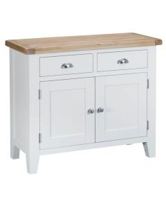 Newholme White 2 Drawer 2 Door Sideboard