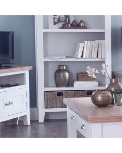 Newholme White Corner TV Unit