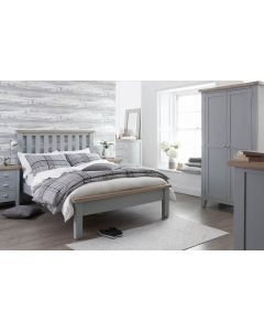 Newsome Grey Oak Full Hanging Wardrobe