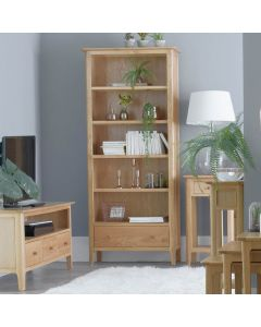 Noah Oak Large Bookcase