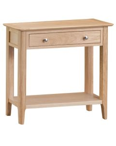 Noah Oak 1 Drawer Console Table