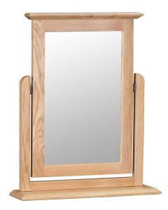 Noah Oak Trinket Mirror