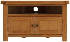 Oakhouse Oak Corner TV Unit