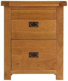 Oakhouse Oak Filing Cabinet