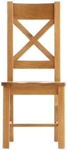 Oakhouse Oak Ladder Back Chair