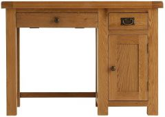 Oakhouse Oak Single Computer Desk