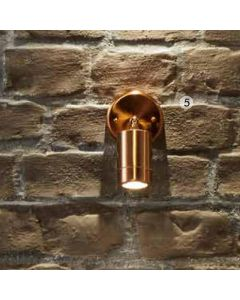 Outdoor Copper Adjustable Directional Spotlight