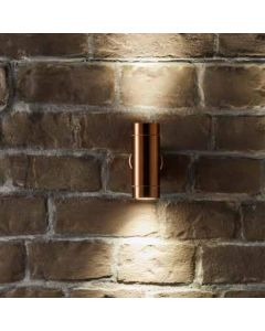 Outdoor Copper Metal Dual Wall Light