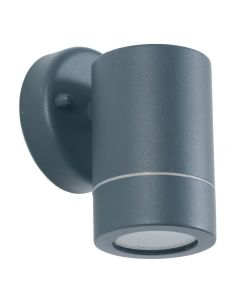 Outdoor Dark Grey Metal Fixed Spot Wall Light