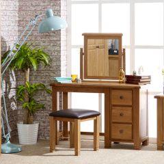 Oxfordshire Oak Dressing Table Set