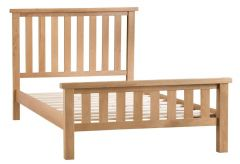 Pine 5 ft Bed High End Frame