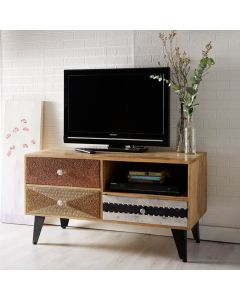 Retro Patch TV Unit