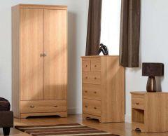 Regent 2 Door 3+2 Drawer Bedroom Set