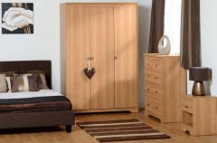 Regent 3 Door 3+2 Drawer Bedroom Set