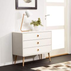 Retro Scandinavian Small Sideboard Chest