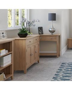 Richtown Oak 3 Door Sideboard