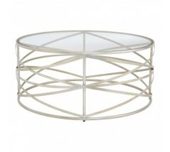 Ruby Silver Coffee Table