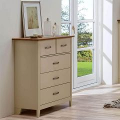 Shaker Style 5 Drawer Chests