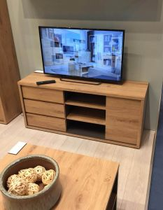 Shetland 1 Door 3 Drawer Tv Unit