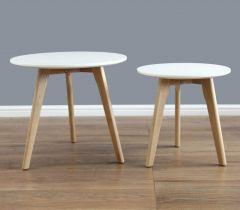 Spiro Gloss Nest of Tables