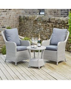 Stone Grey Antigua Bistro Set