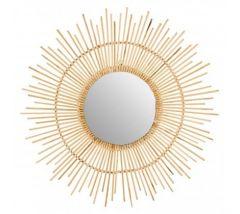 Tamara Bamboo Wall Mirror
