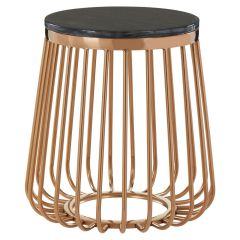 Tusca Cage Design Side Table