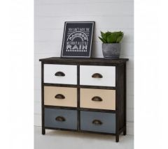 Urban Loft 6 Drawer Chest