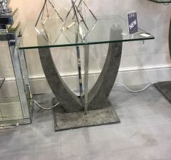 Viva Grey Side Table