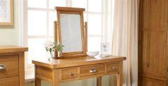 Woburn Oak Dresser Mirror