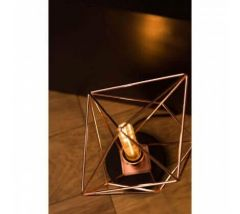 Wyra Retro Copper Finished Table Lamp
