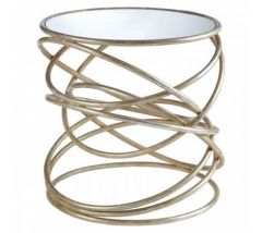 Zara Spiral Base Side Table