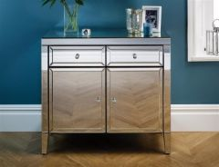 Turia Mirror 2 Door 2 Drawer Sideboard