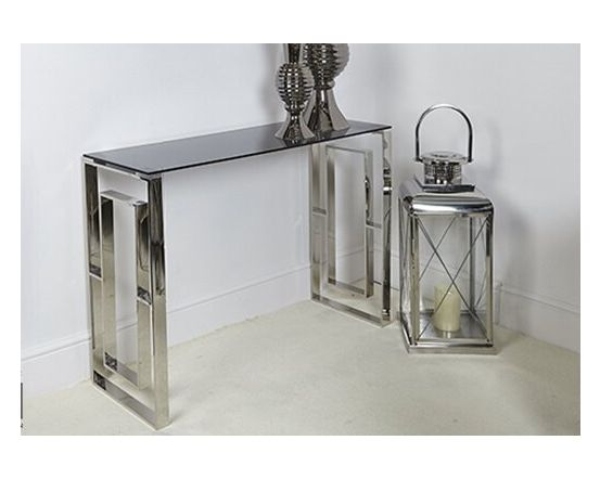 Apex Stainless Steel Console Table