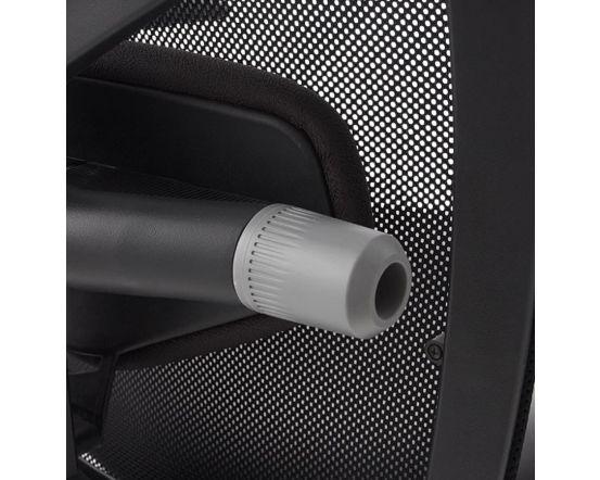 Arfas Black Faux Leather Ergonomic Office Chair