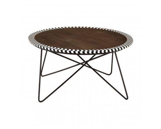 Artisan Round Acacia Coffee Table