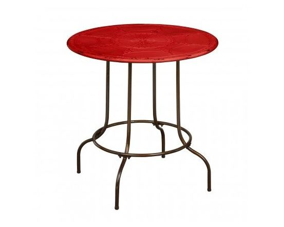 Artisan Round Table - Red