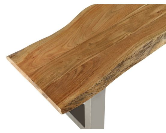Baltic Mango Wood 2m Dining Table with 2 Benches