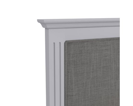 Belbury Grey Pine Bed Frame