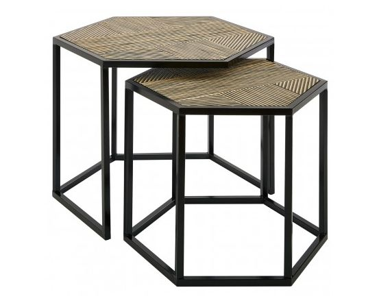 Berit Set of 2 Natural Side Tables