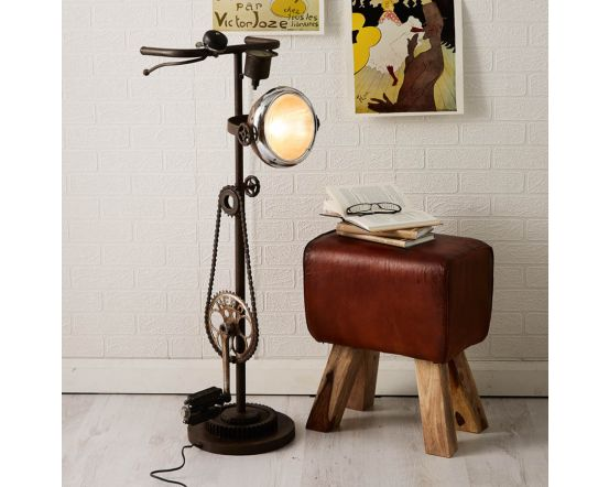Bicycle Chain Style Floor Lamp
