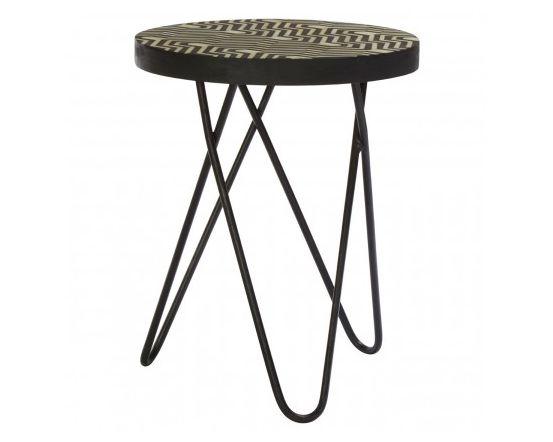 Bovo Metal Side Table