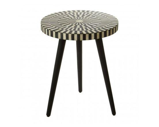 Bovo Sheesham Wood Round Side Table