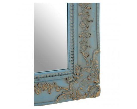 Camille Blue Wall Mirror