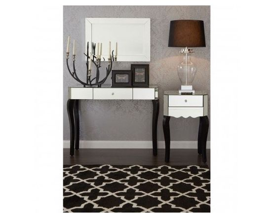 Cattleya Mirrored Console Table