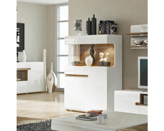 Chelsea Low Display Cabinet 109cm Wide