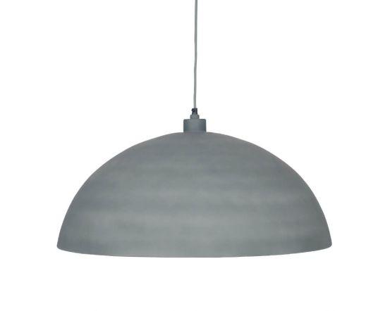 Concrete Grey Effect Pendant