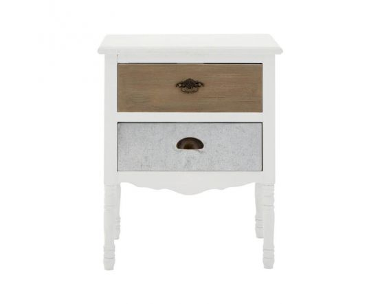 Coastal Home Side Table With 2 Drawers